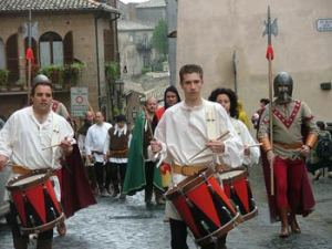 medieval-parade