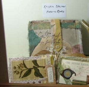 Kristi's work on display at Folk School