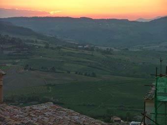 Sunset in Orvieto