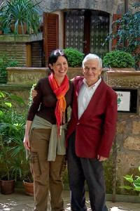Cristina and Signore Sciarra