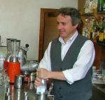 Our barista Stefano Scarponni