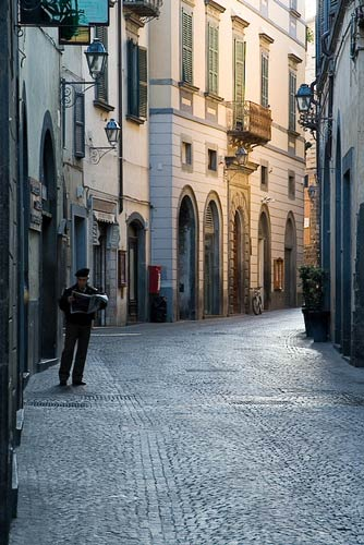 Quiet Morning in Orvieto