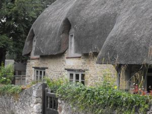 Thatched roof, Iffley, England