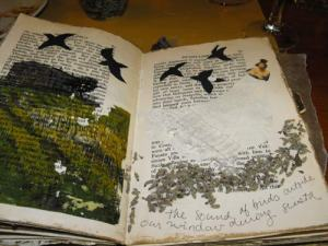 Altered pages with journaling
