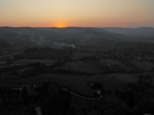 Orvieto Sunset - Afterglow