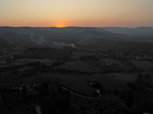 Orvieto Sunset - Afterglow