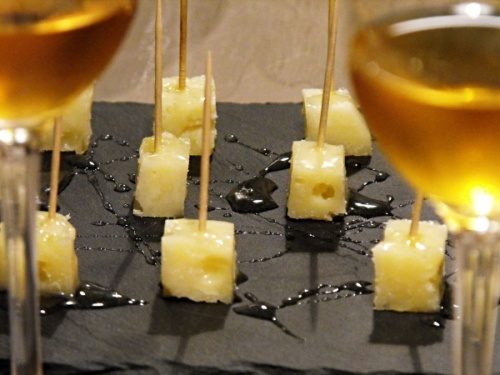 It was capped off with cheese and honey paired with the Muffa Nobilis dessert wine of Palazzone.