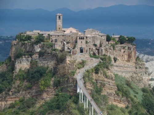 Visit to magical Civita
