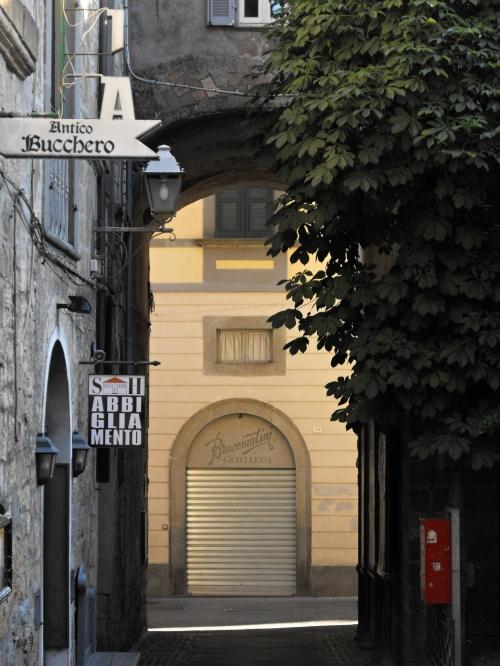 Early morning in Orvieto